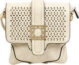 Colors Inc. Women Beige Leatherette Slin...