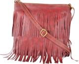 Zircons Women Multicolor PU Sling Bag