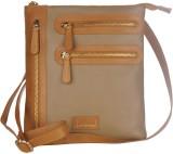 Justanned Women Beige Genuine Leather Sl...