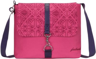 Fastrack Girls, Women Pink Canvas Sling Bag