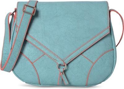 Baggit Women Blue Rexine Sling Bag