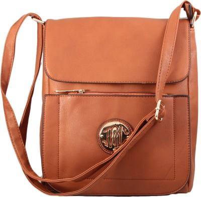 Alishaan Girls, Women Brown PU Sling Bag