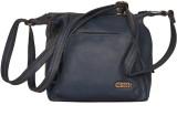 Baggo Women Blue PU Sling Bag