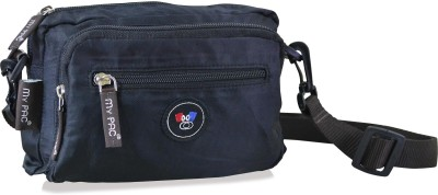 My Pac Db Women Black Polyester Sling Bag