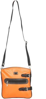 Chanter Women Casual, Formal Orange Genuine Leather Sling Bag