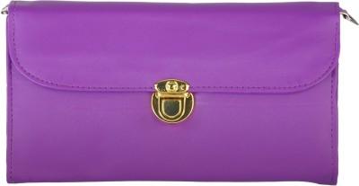 Fantosy Women Casual Purple PU Sling Bag