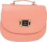 RaviCollections Women Pink Leatherette S...