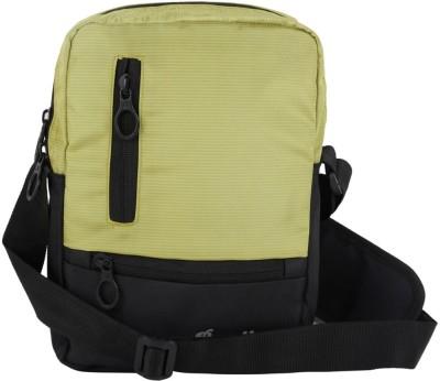 Bendly Men, Women Green Polyester Sling Bag