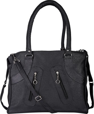 Incraze Women Black PU Sling Bag