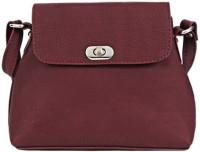 Bagsy Malone Women Maroon PU Sling Bag
