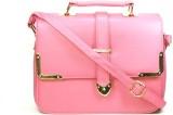 Blue-Tuff Women Casual Pink PU Sling Bag
