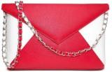 Cascara Women Red Rexine Sling Bag