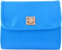 Diviano Women Blue PU Sling Bag