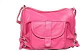 Borse Women Casual Pink PU Sling Bag