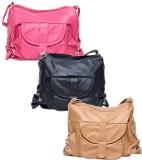 Borse Women Multicolor PU Sling Bag