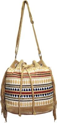 Tiara Women Multicolor PU Sling Bag