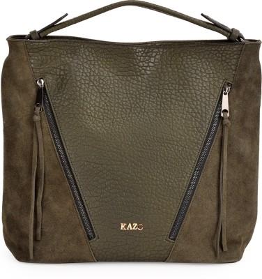 Kazo Women Green PU Sling Bag