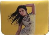 Styles n More Women Yellow PU Sling Bag