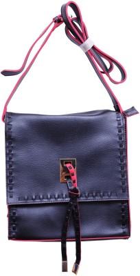 Monett Women Black PU Sling Bag
