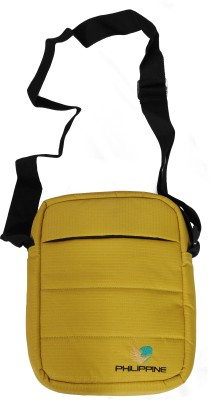 Philippine Women Yellow Polyester Sling Bag