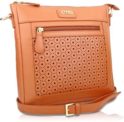 Ccha Girls Tan PU Sling Bag