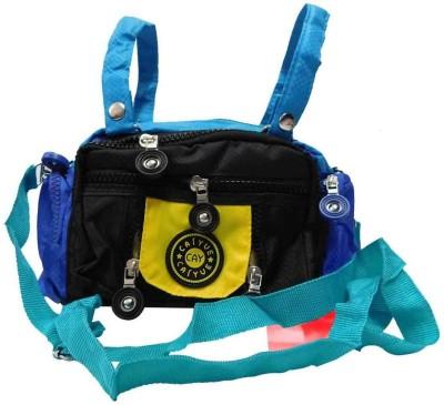 Laviva Women Black Nylon Sling Bag