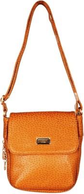 Lizzie Women Beige PU Sling Bag