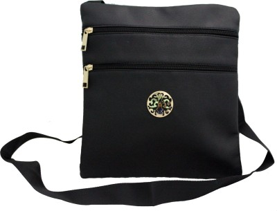 ShoppingFeast Women Black Flex Sling Bag