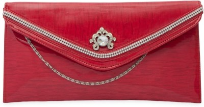 SkyWays Women Casual, Evening/Party Red PU Sling Bag