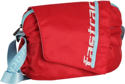 Fastrack Women Red Polyester Sling Bag