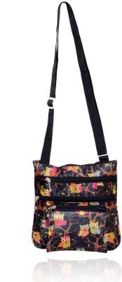 Yark Women Casual Multicolor Polyester Sling Bag