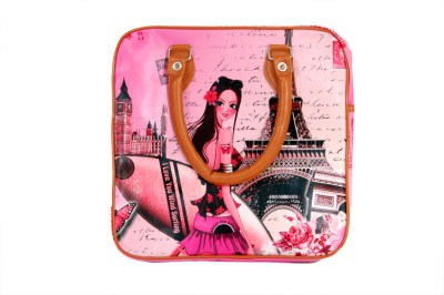 Little Fairy Girls Pink PU Sling Bag