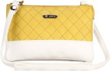 Lavie Women Casual Yellow Leatherette Sl...