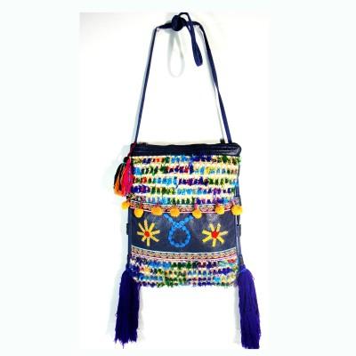 Praniti Women Multicolor Cotton Sling Bag