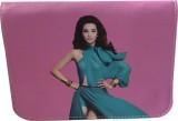 Styles n More Women Purple PU Sling Bag
