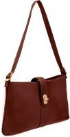 JFL - Jewellery for Less Girls Brown Genuine Leather Sling Bag