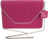 Rivet Women Pink PU Sling Bag