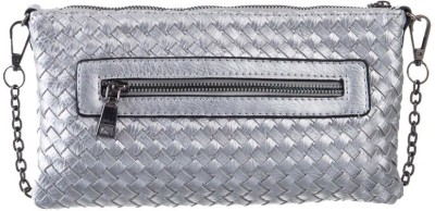 Peaubella Girls, Women Silver PU Sling Bag