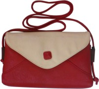 Bhamini Women Red PU Sling Bag