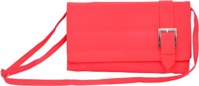 Pankhudi Women Pink PU Sling Bag