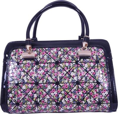 Ruff Women Black PU Hand-held Bag