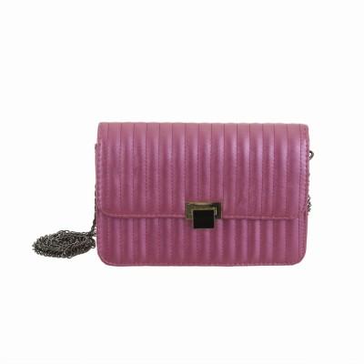 Peaubella Women Formal Pink PU Sling Bag