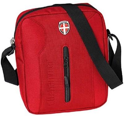 Ellehammer Men Red Polyester Sling Bag