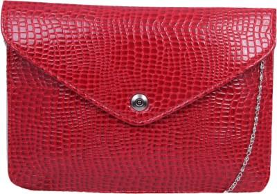 Pinkdivaas Girls, Women Red Leatherette Sling Bag