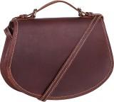 Dunez Women Brown Genuine Leather Sling ...