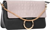 Kalon Women Casual Beige PU Sling Bag