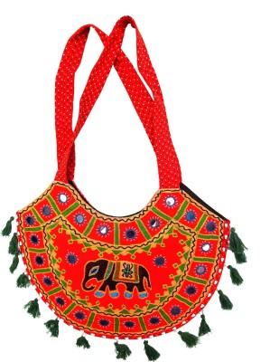 RTD Girls, Women Red Cotton Shoulder Bag