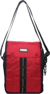 Harissons Men, Women Casual Red Nylon Sling Bag