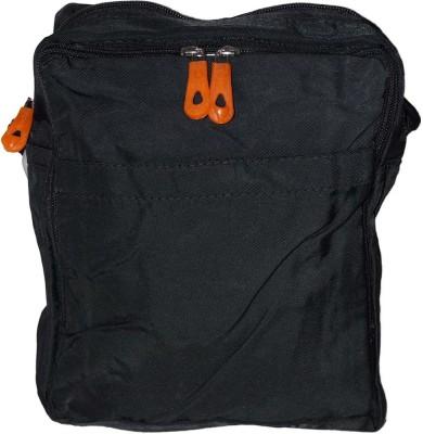 Prajo Women Black PU Sling Bag