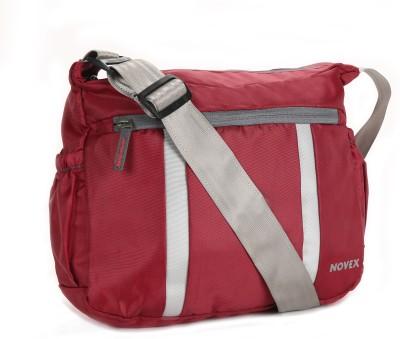 Novex Boys, Girls, Women Maroon Nylon Sling Bag